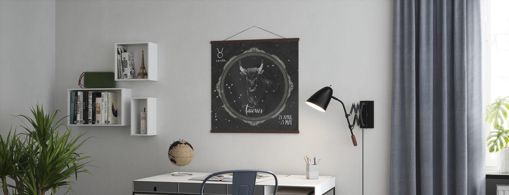 Night Sky Taurus - Poster - Office