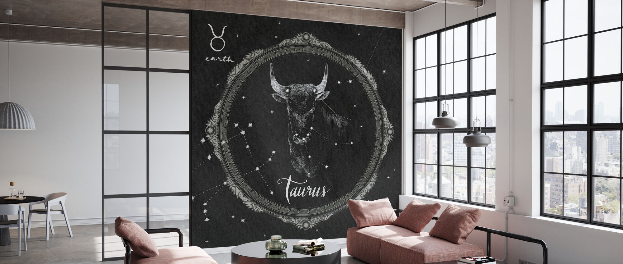 Night Sky Taurus - Wallpaper - Office