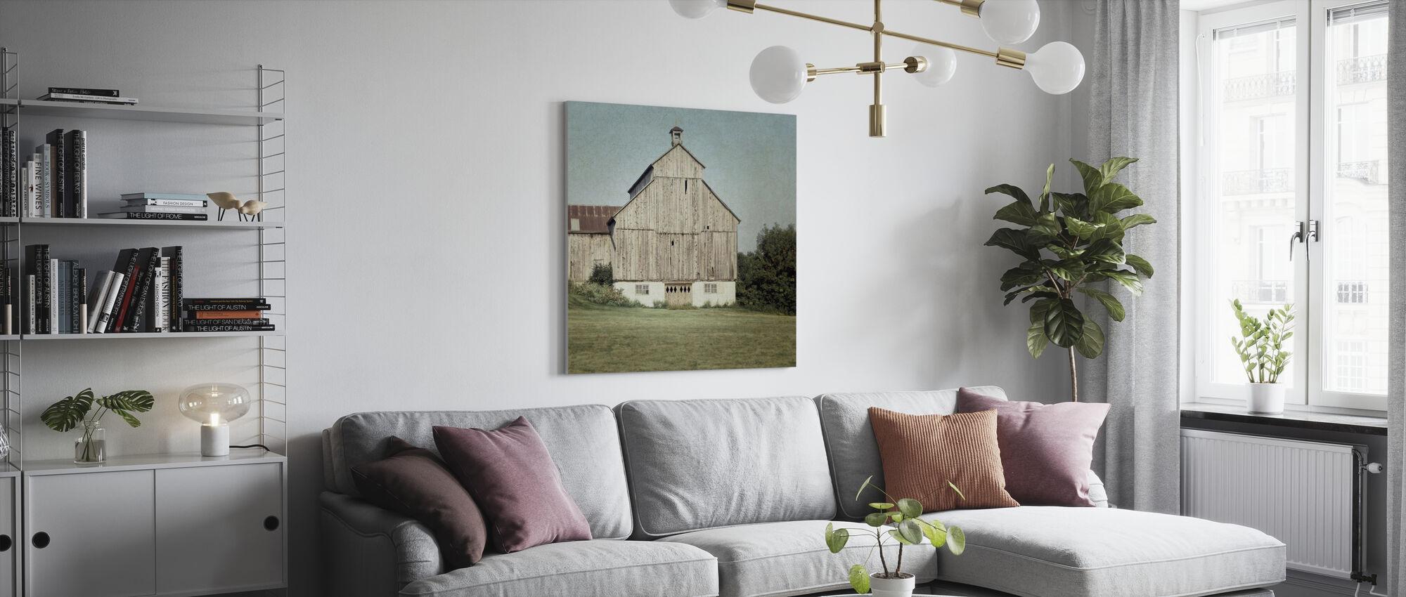 Barn - Canvas print - Living Room