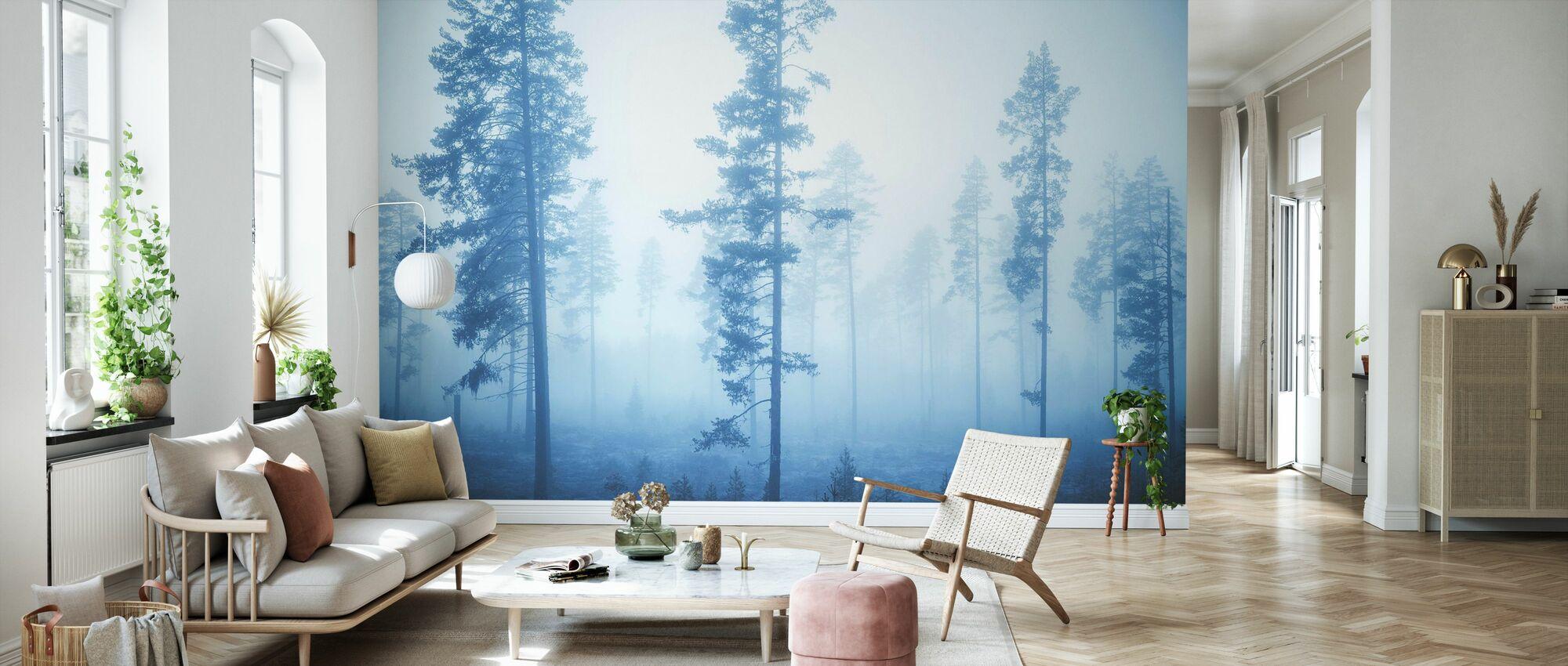 Blue Breeze - Wallpaper - Living Room