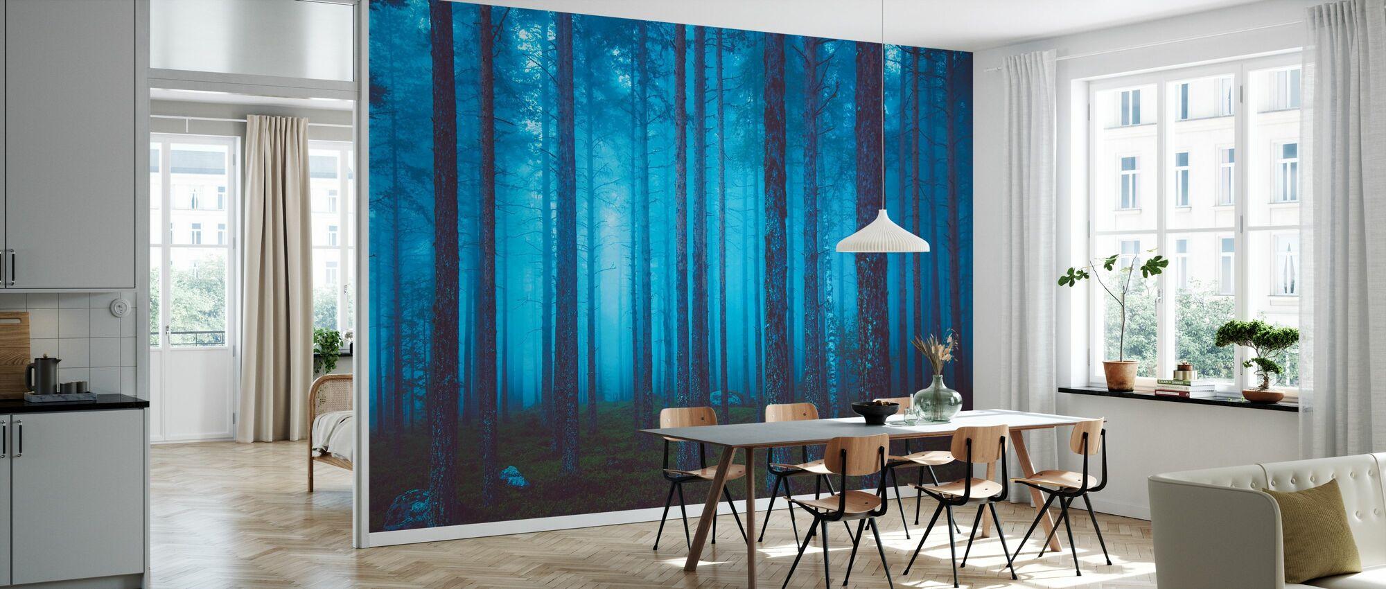 Mystisk skog - Tapet - Kök