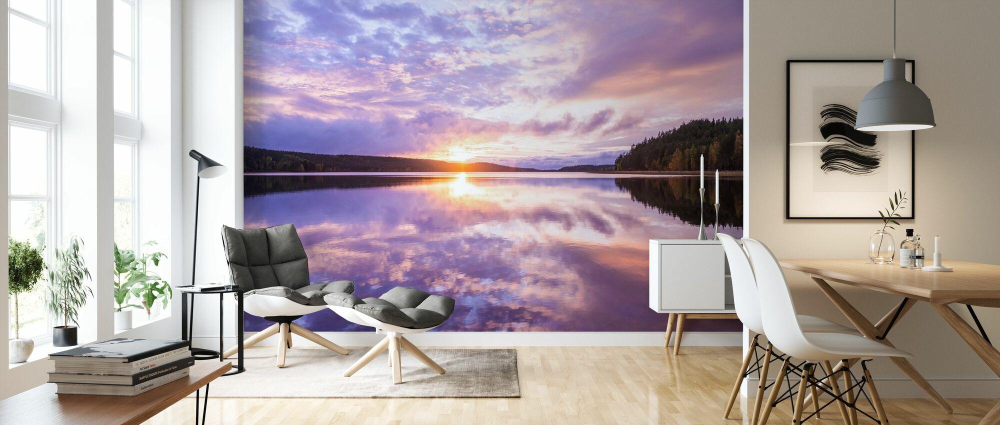 Reflections - Wallpaper - Living Room