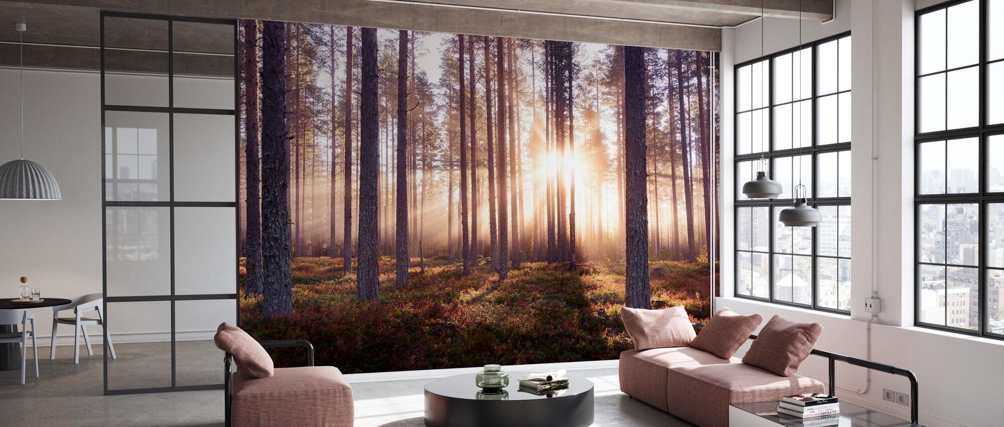 Den förtrollade skogen - Tapet - Kontor
