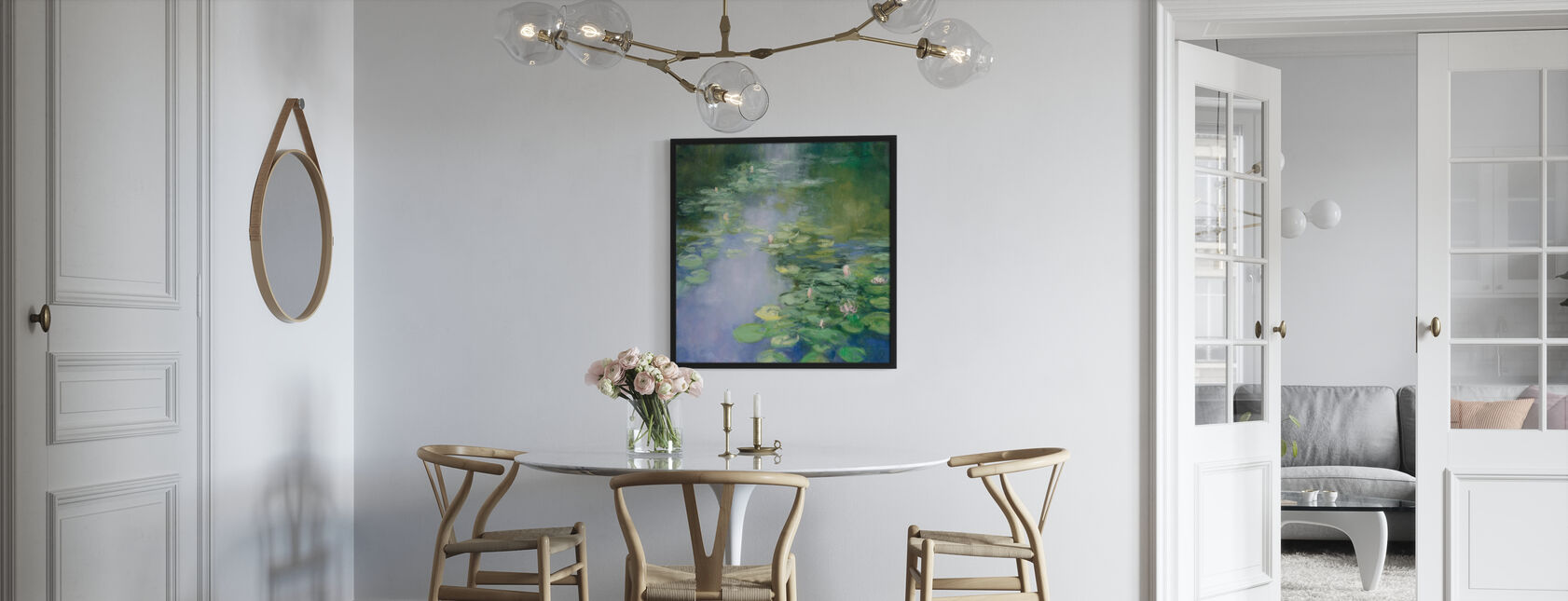 Blue Lily II - Poster - Kitchen