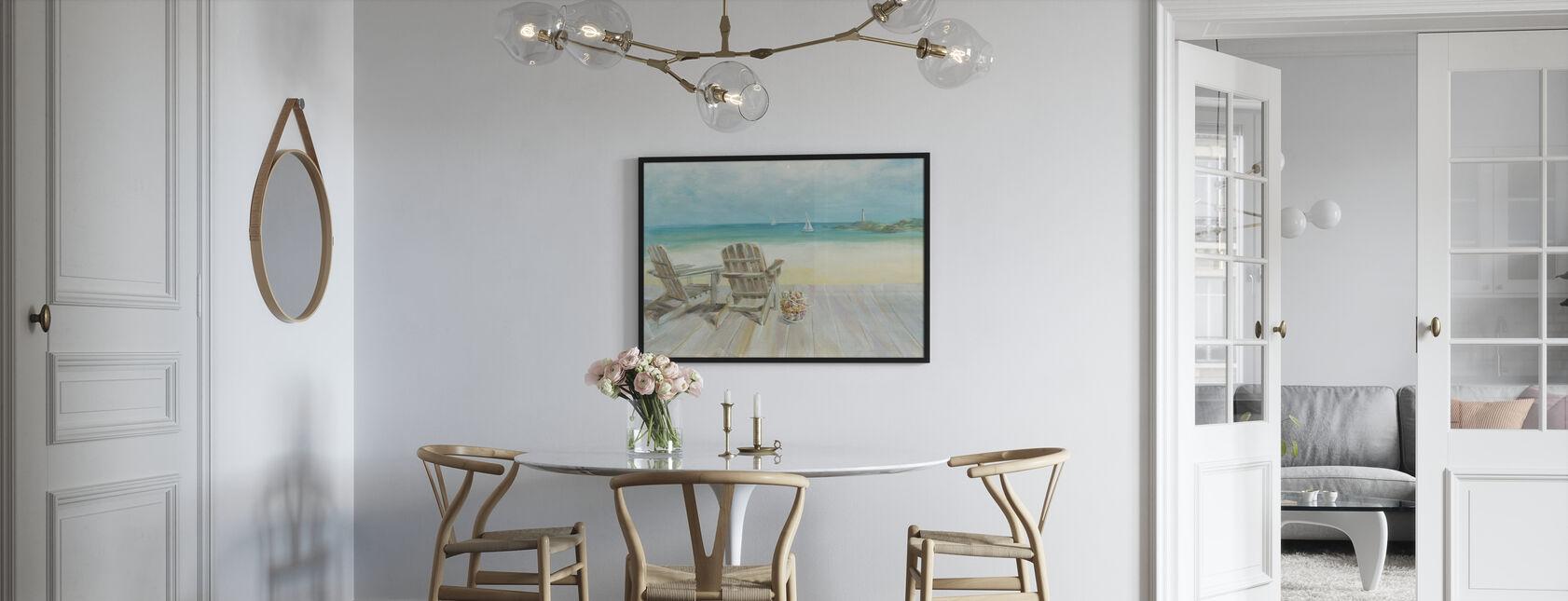 Uitzicht op de oceaan - Ingelijste print - Keuken