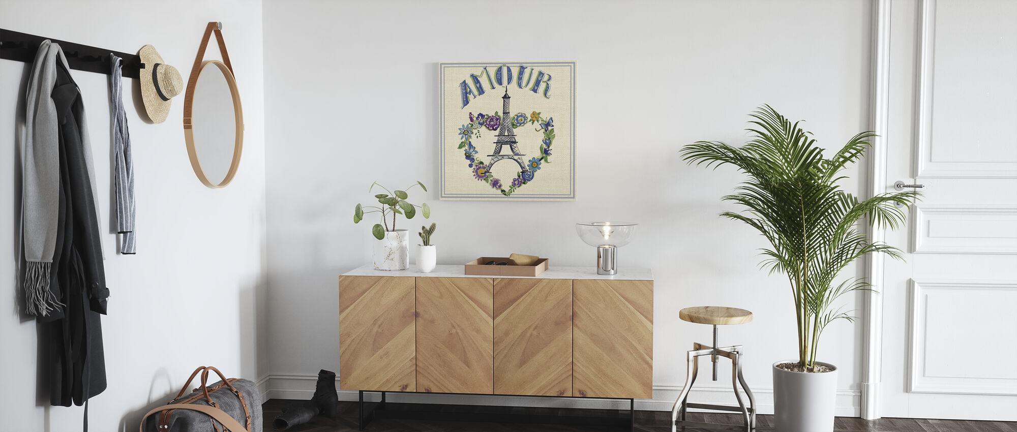 Travel Amour - Canvas print - Hallway