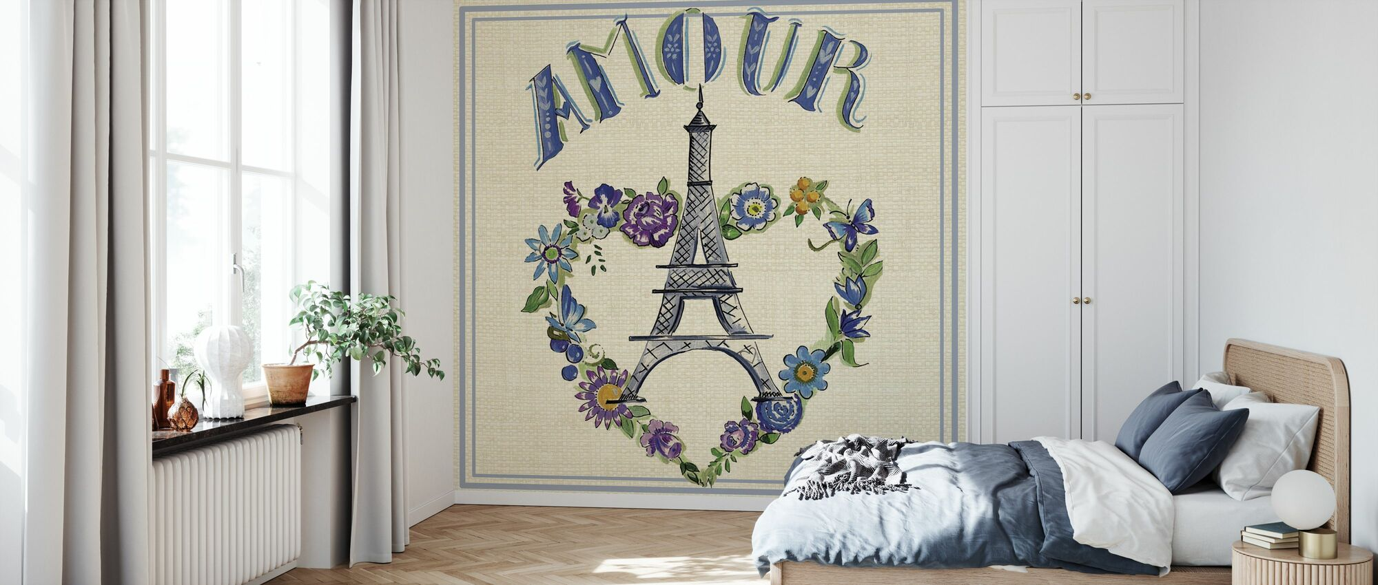 Travel Amour - Wallpaper - Bedroom