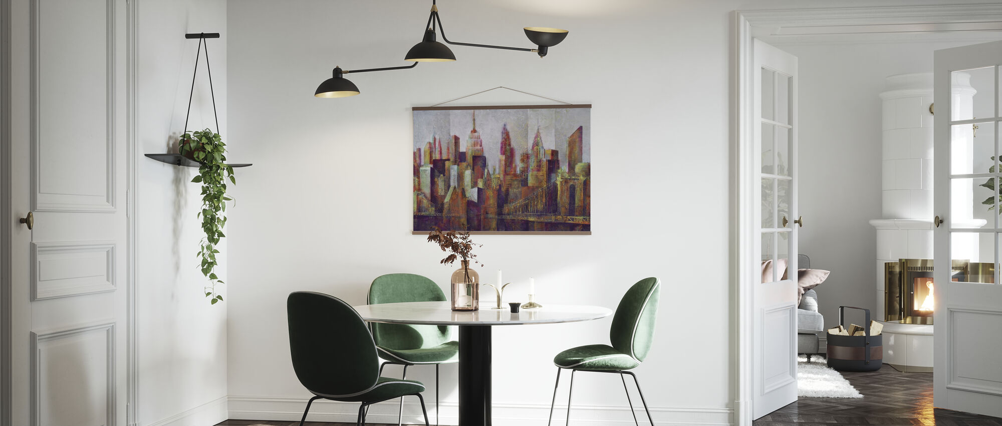 New York Skyline Art - Poster - Kitchen