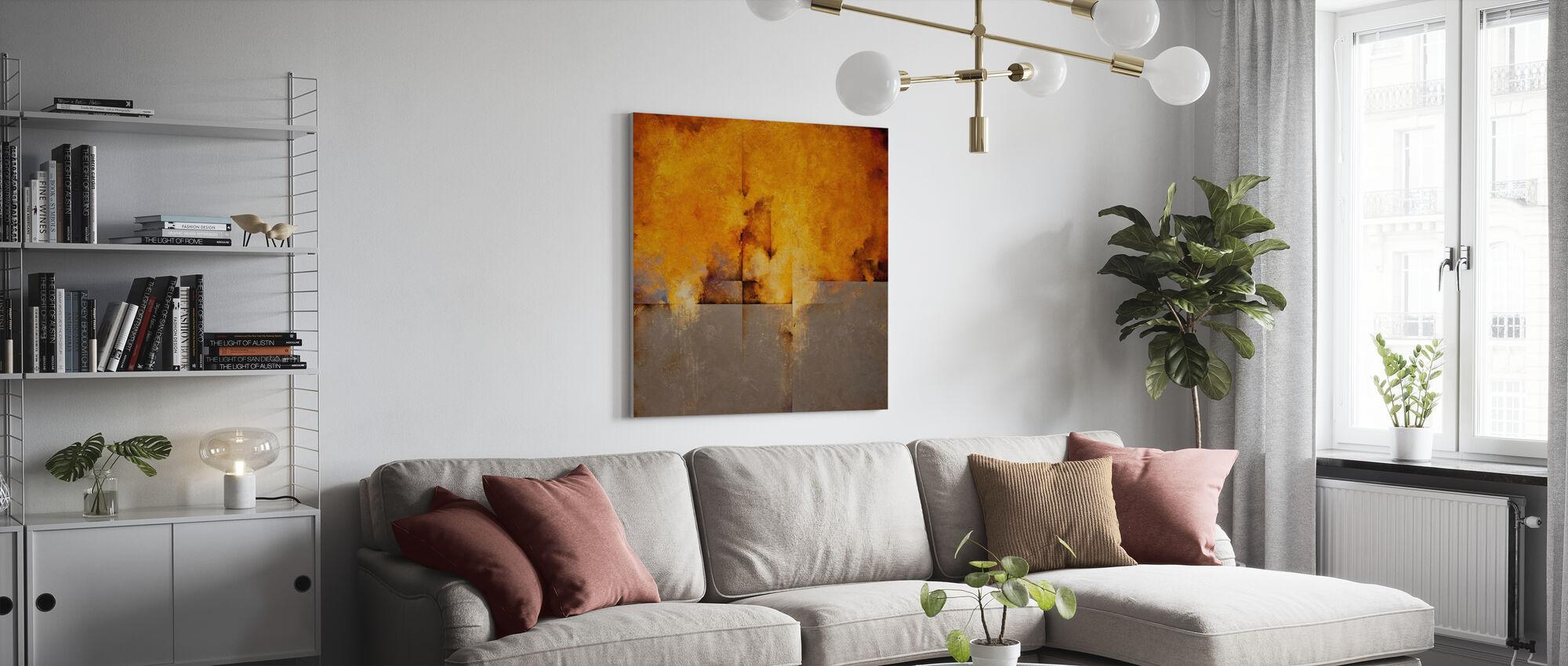 Lost Passage - Canvas print - Living Room