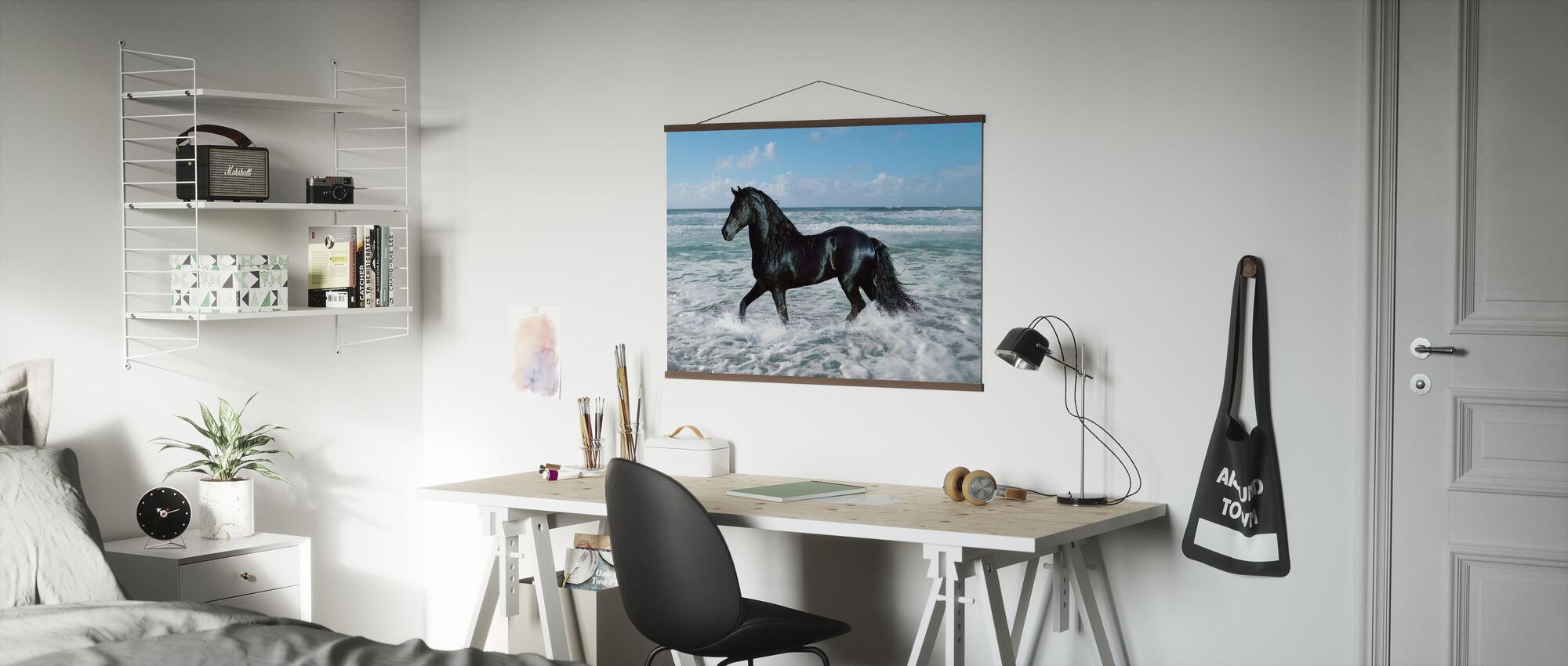 Hest Bading - Plakat - Kontor