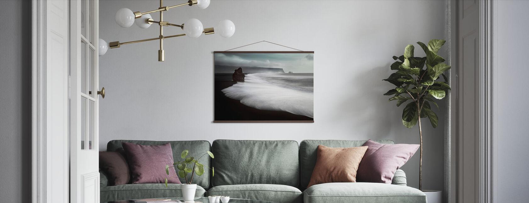 Der Schwarze Strand - Poster - Wohnzimmer