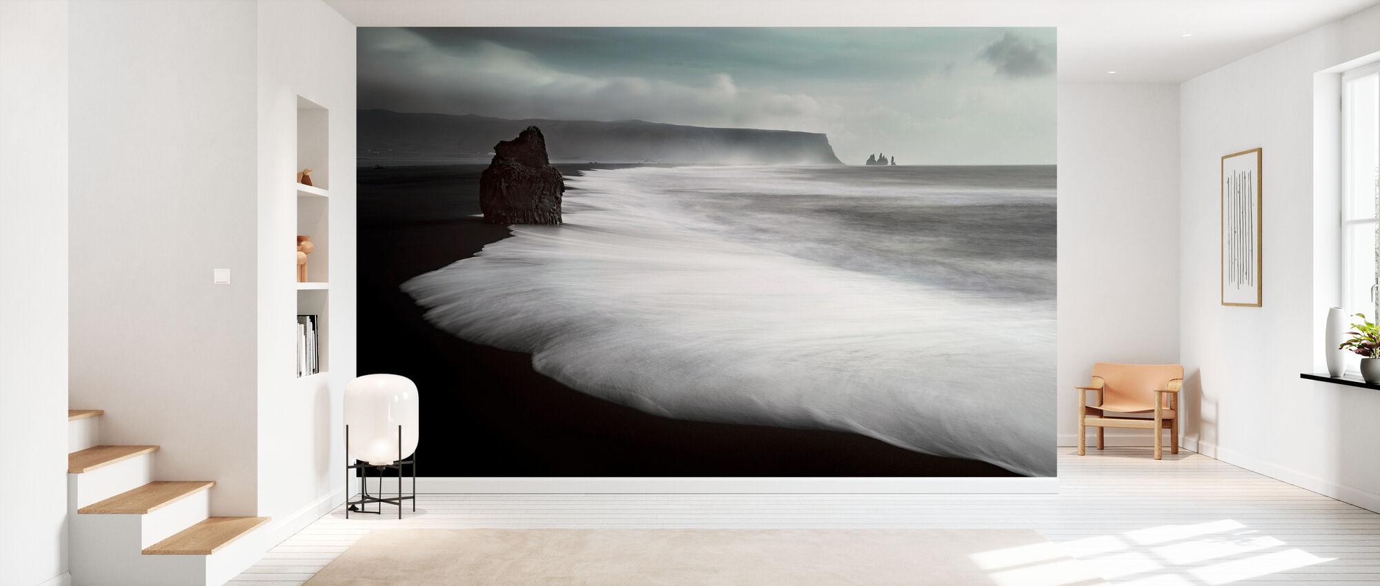 The Black Beach - Wallpaper - Hallway