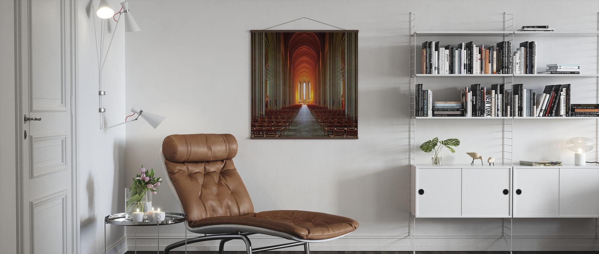 Heiliges Licht - Poster - Wohnzimmer