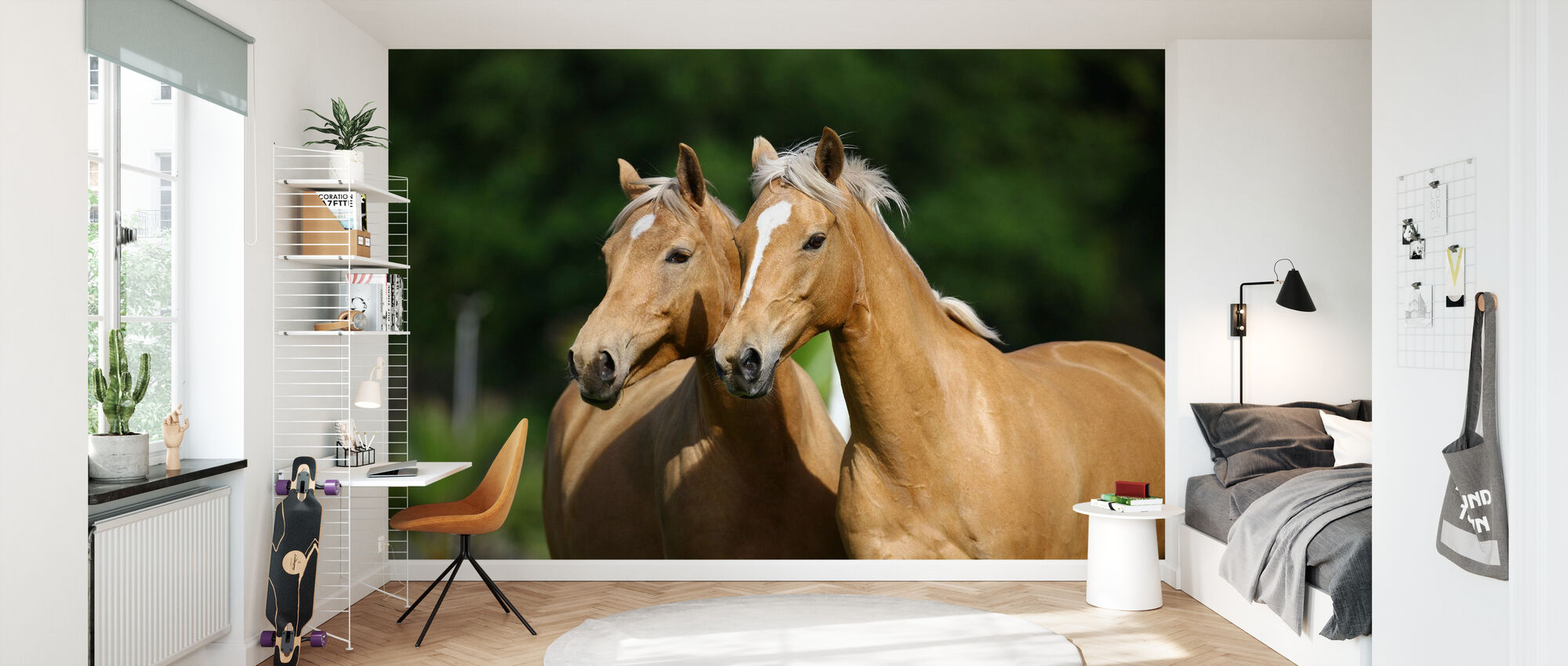 Horse Friends - Wallpaper - Kids Room