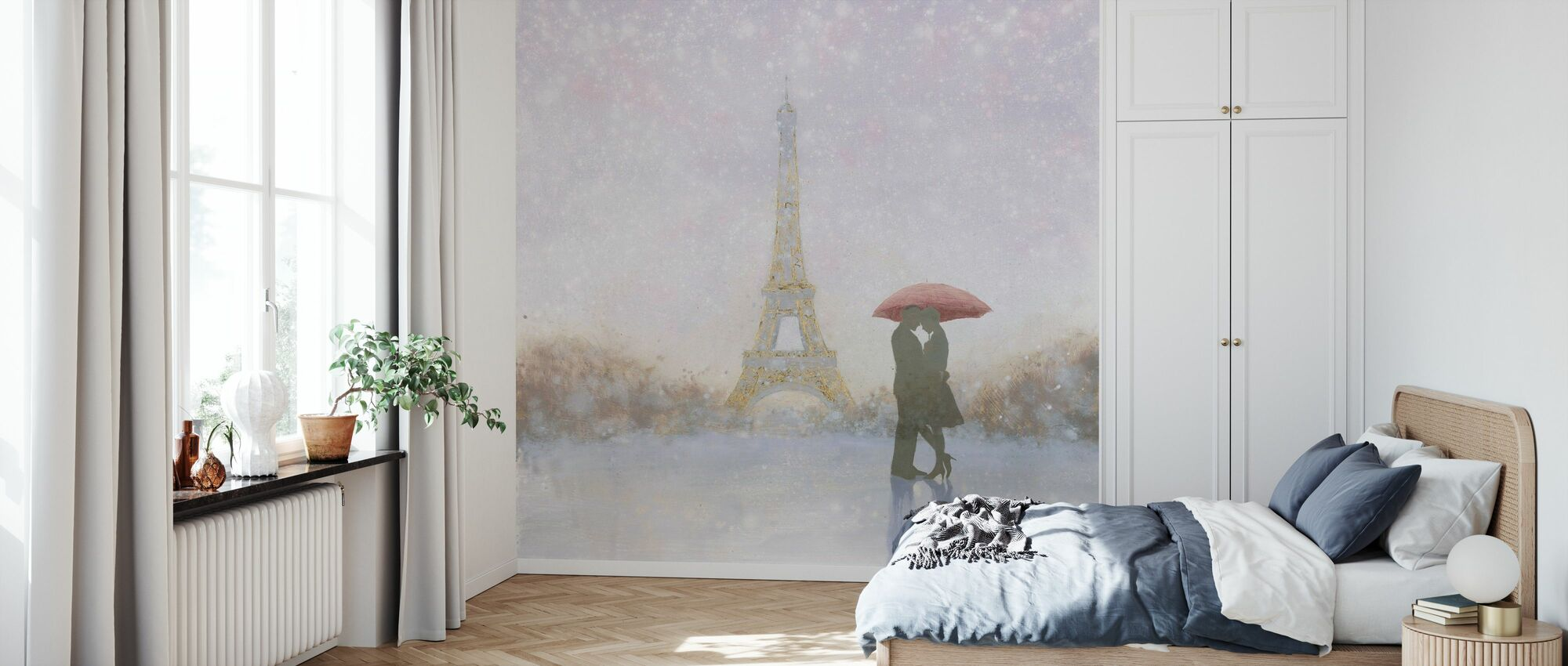 Eiffel Romance - Wallpaper - Bedroom