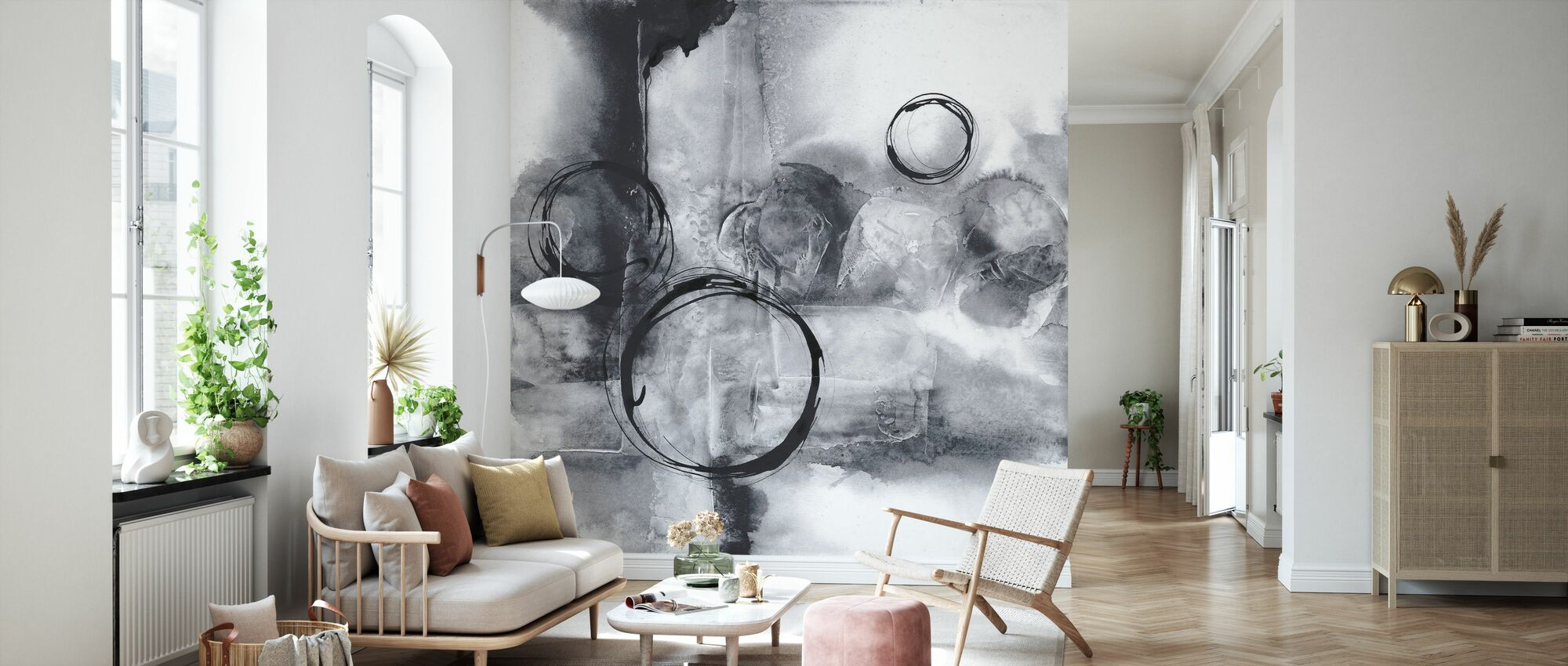 Full Circle I - Tapet - Vardagsrum