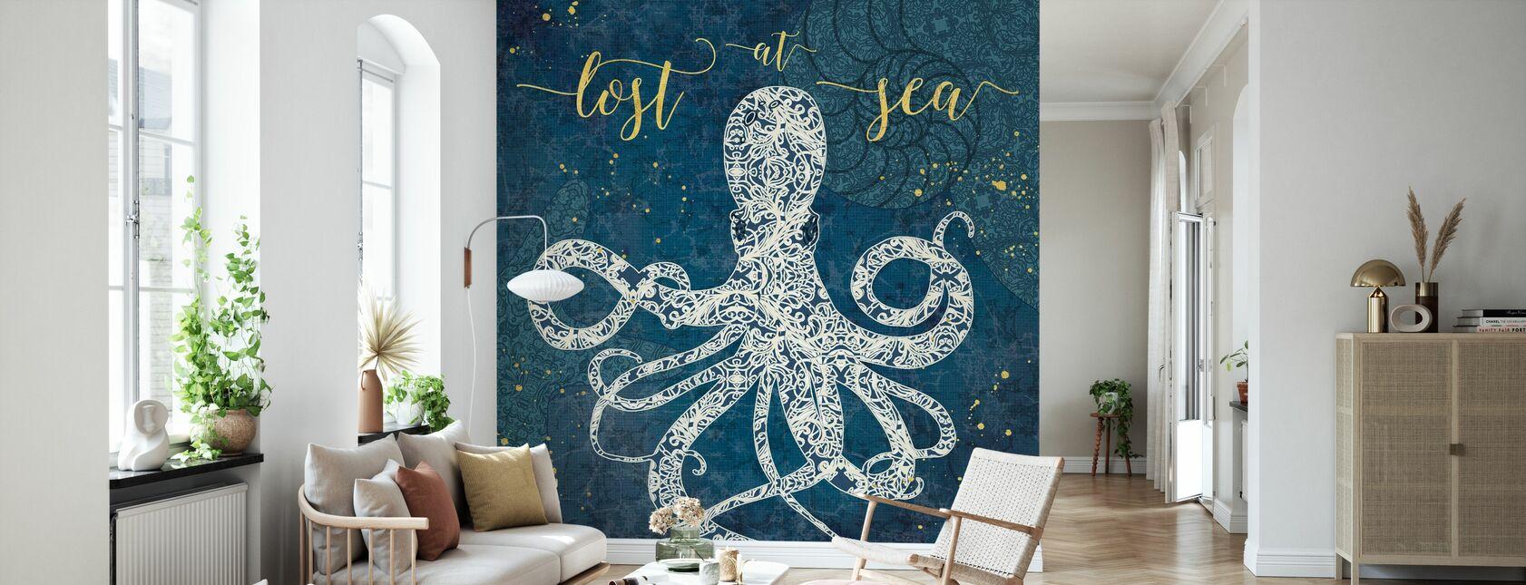 Lost at Sea - Wallpaper - Living Room