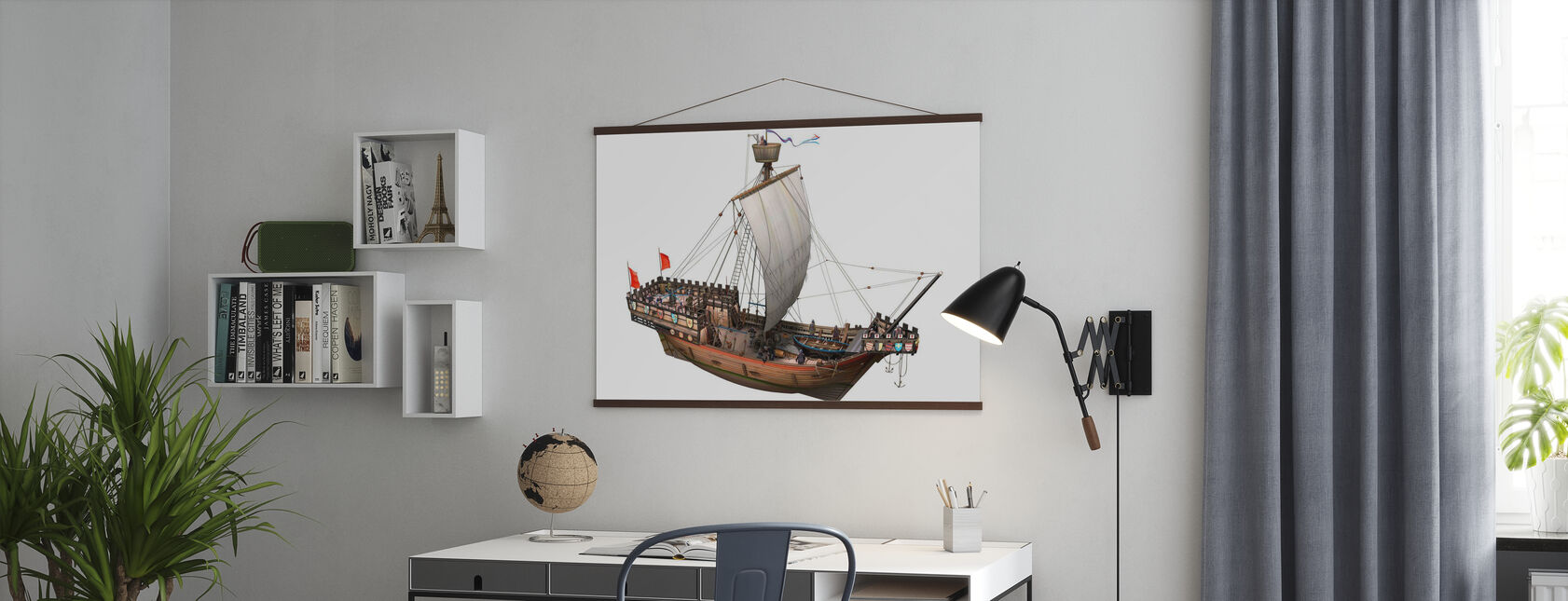 Pirate ship - Poster - Office