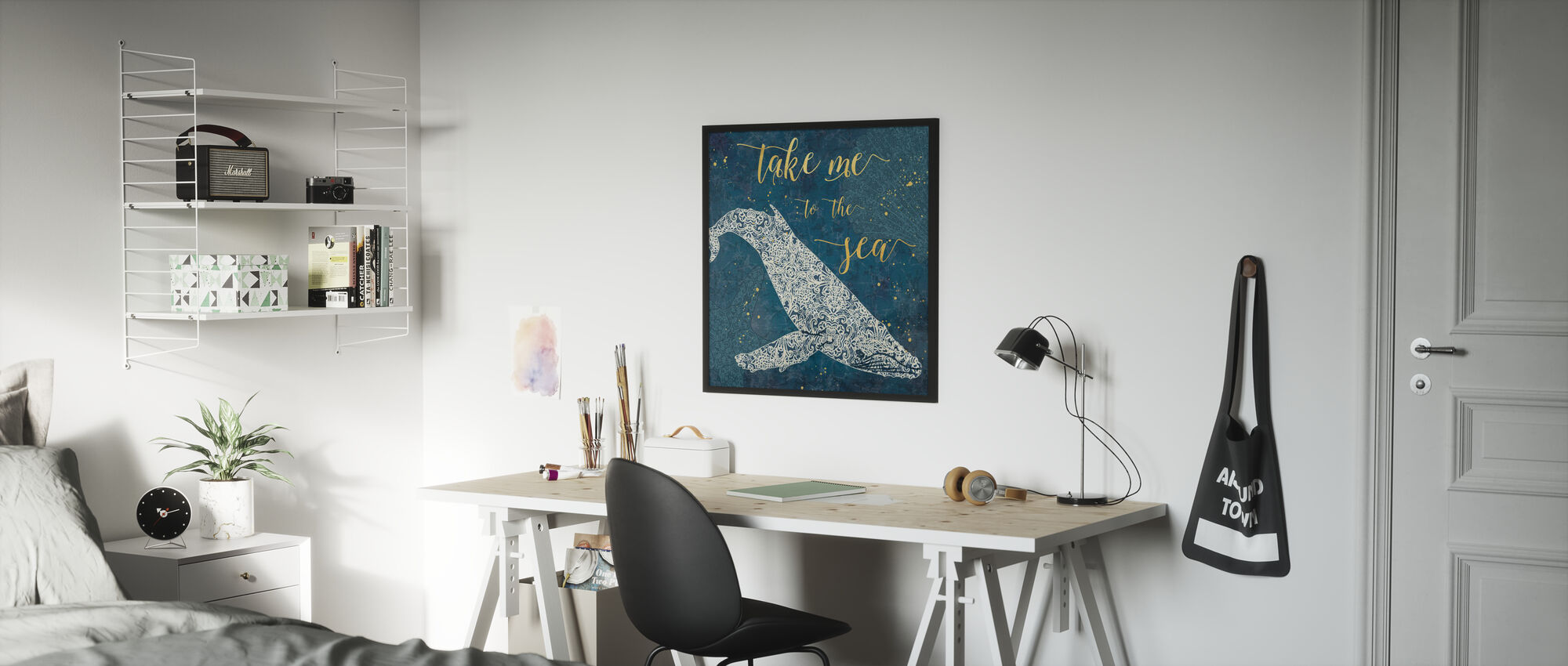 Take Me to the Sea - Poster - Kids Room