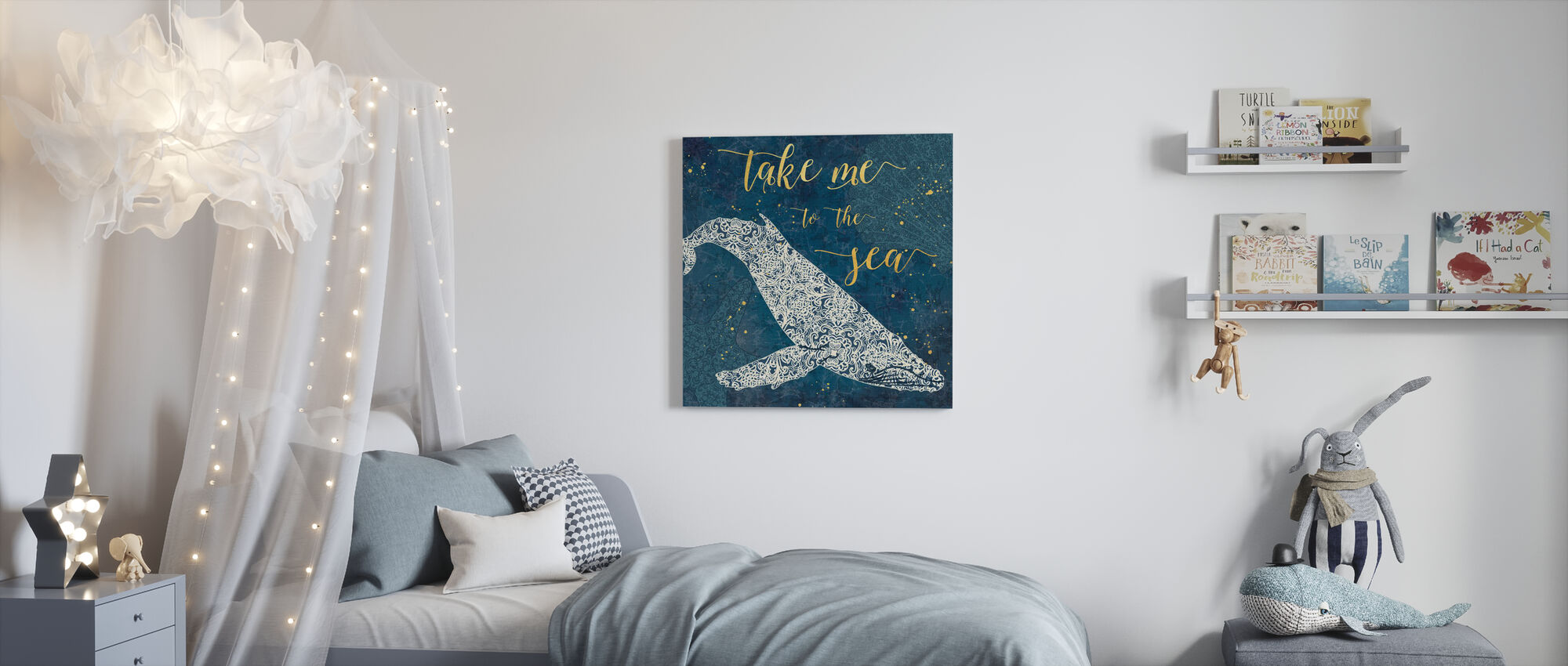 Take Me to the Sea - Canvas print - Kids Room
