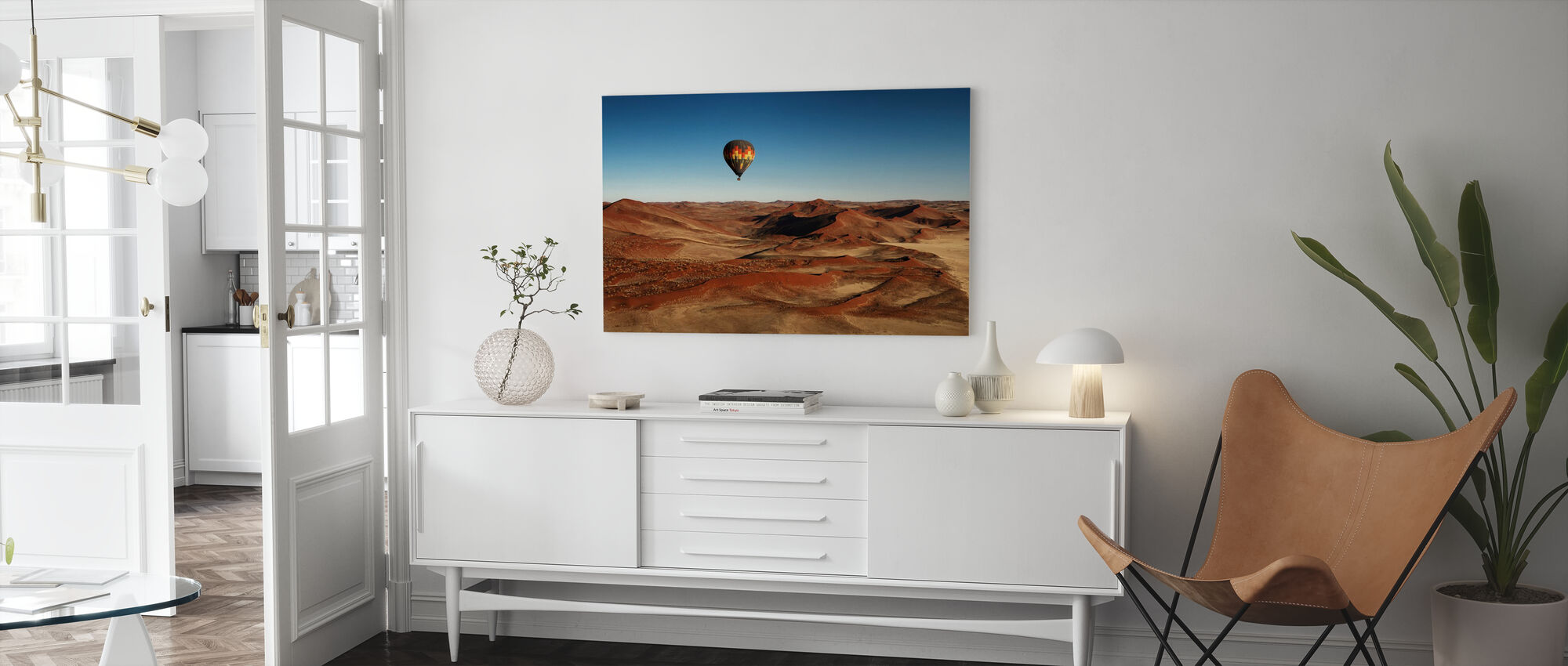 The Better Way for Visiting - Canvas print - Living Room