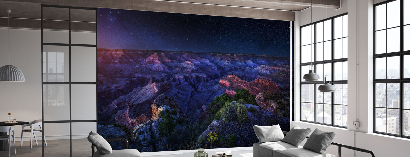Grand Canyon Nacht - Tapete - Büro