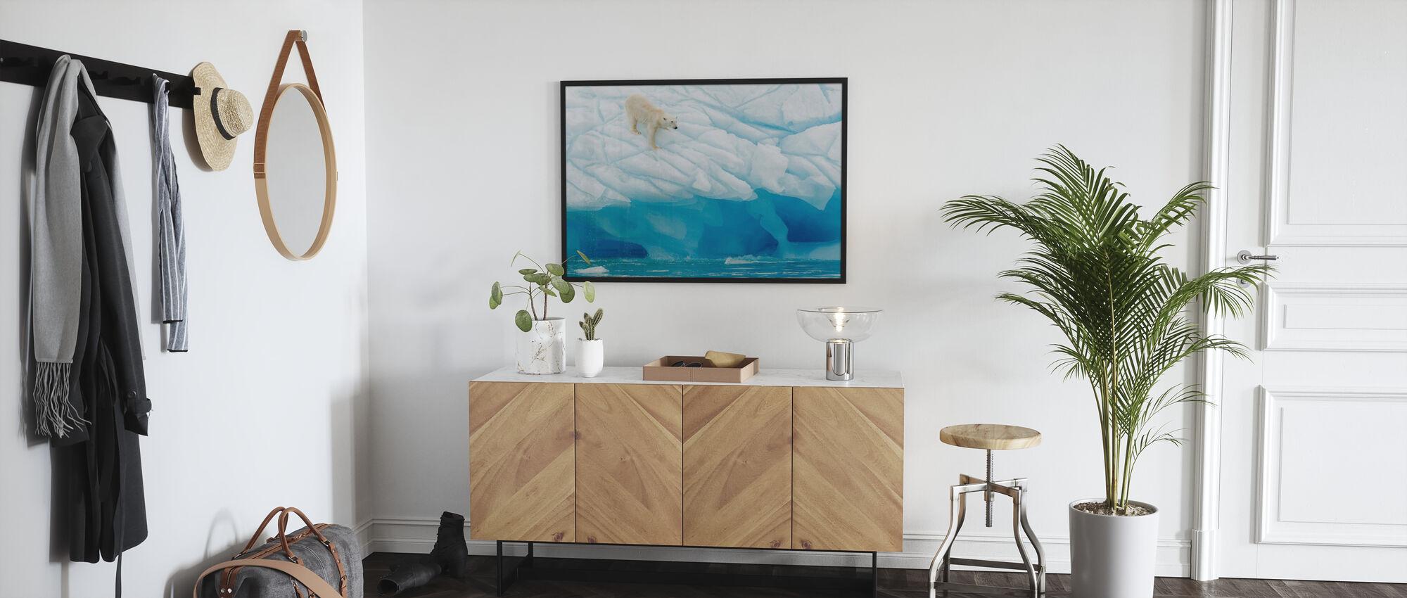 Leaning Polar Bear - Poster - Hallway