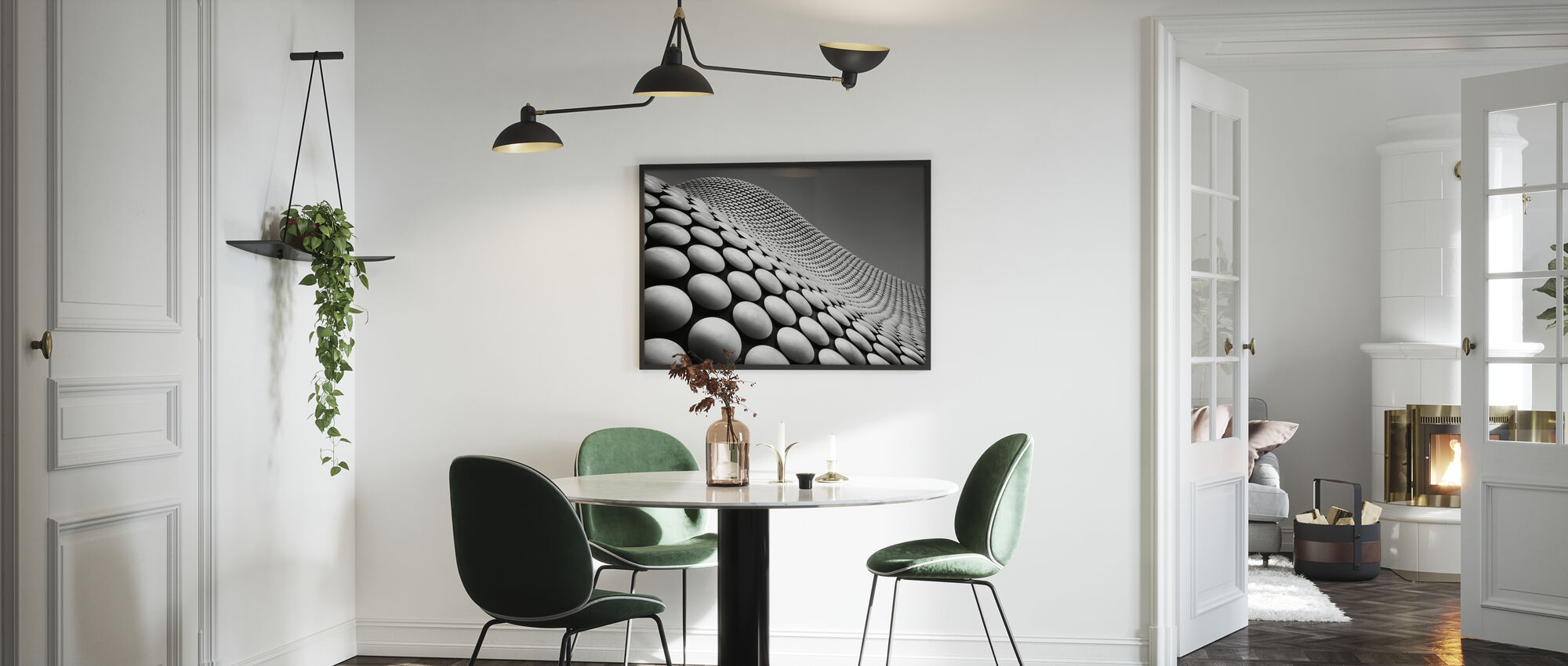 Curve - Poster - Kitchen