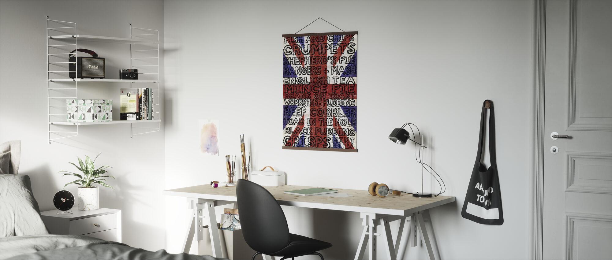 Keuken geschikt voor een koningin - Poster - Kantoor