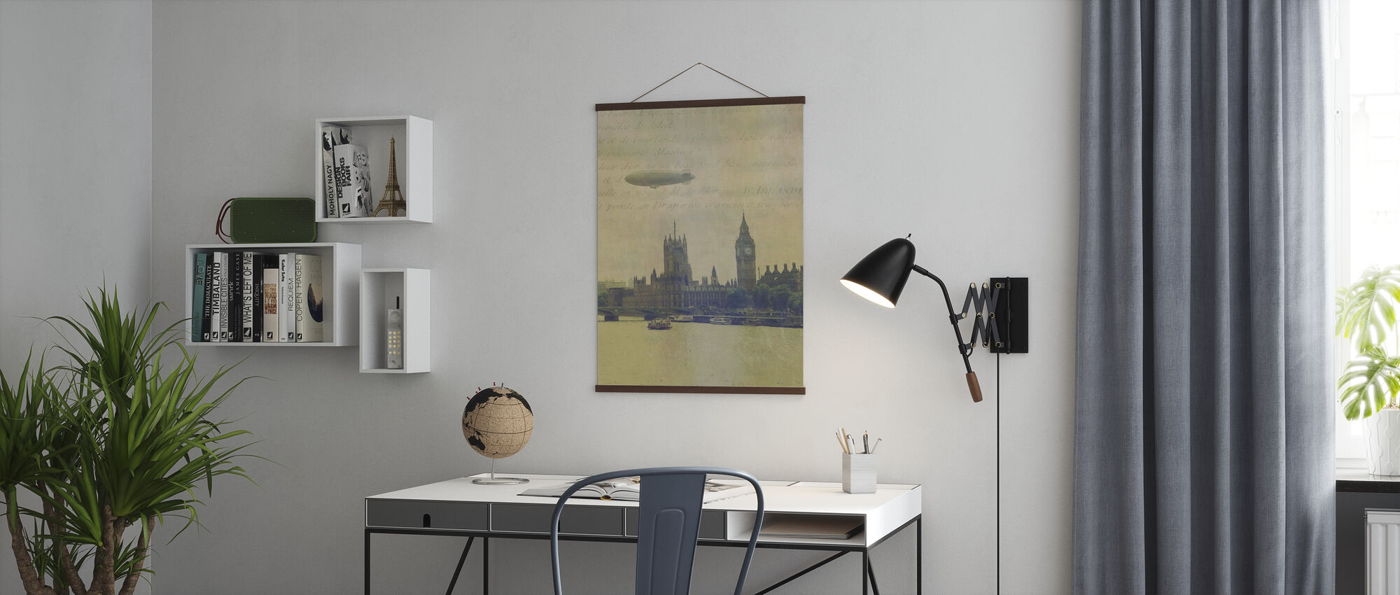 Travel Aviation l - Poster - Office