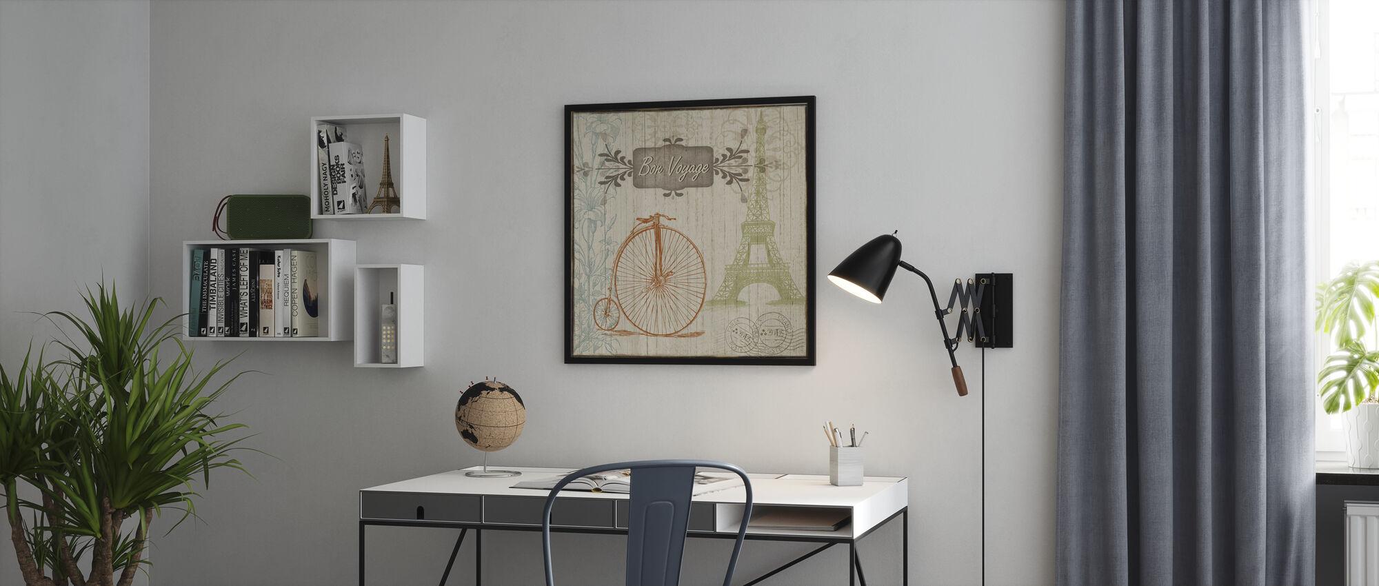 Bon Voyage - Print enmarcado - Oficina