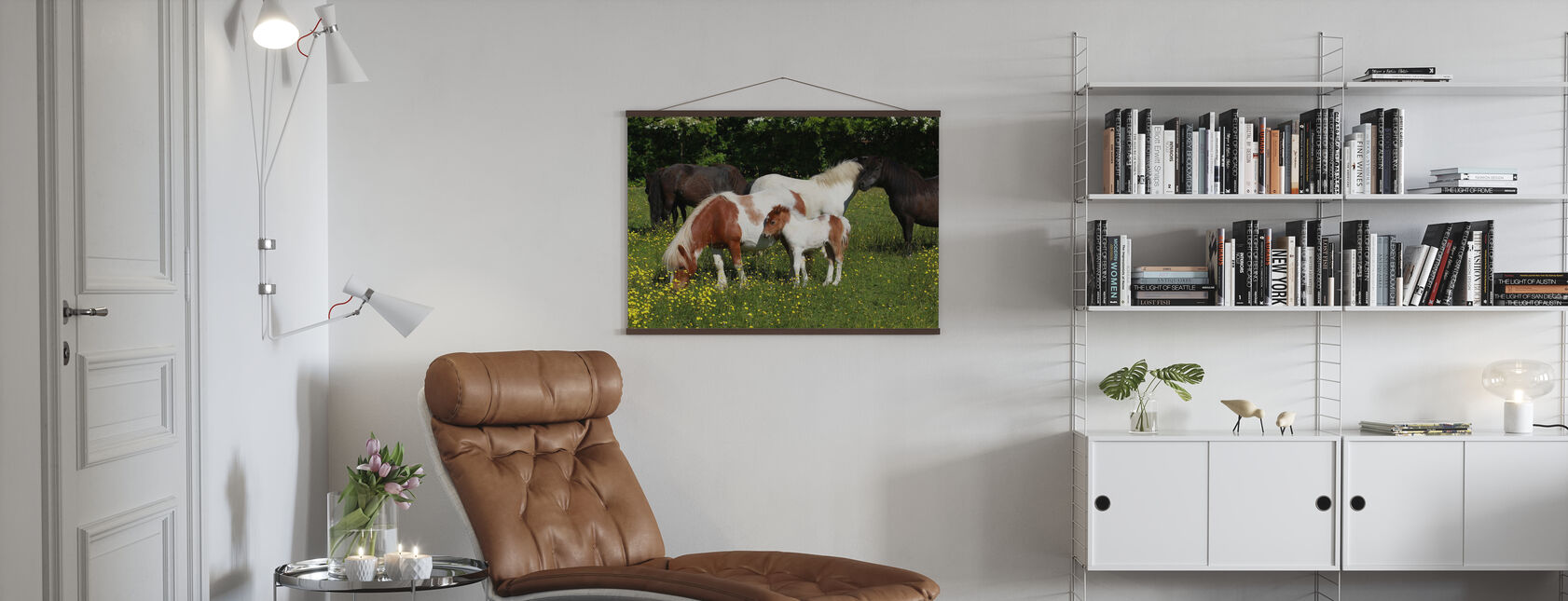 Shetland Ponies - Poster - Living Room