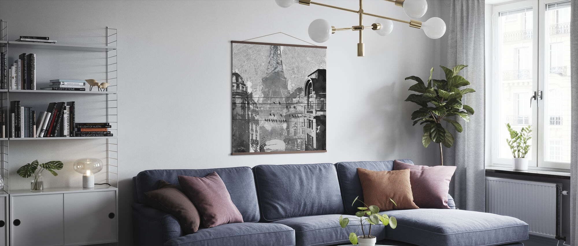 Birds of Paris - Poster - Living Room
