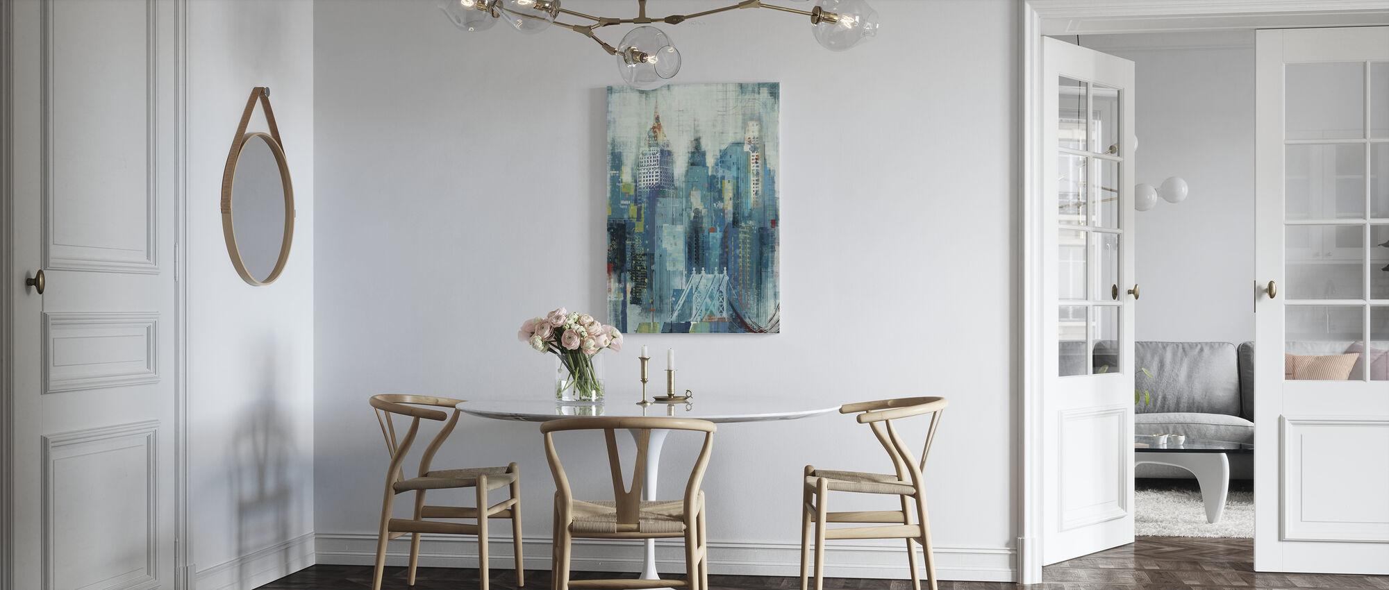 New York Skyline Artwork - Canvas print - Kitchen