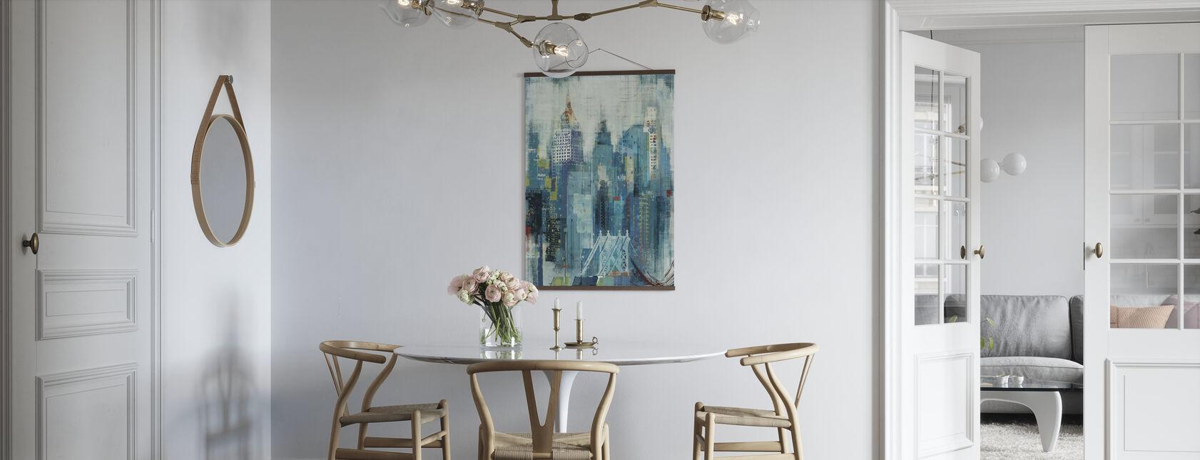 New York Skyline Kunstwerk - Poster - Küchen