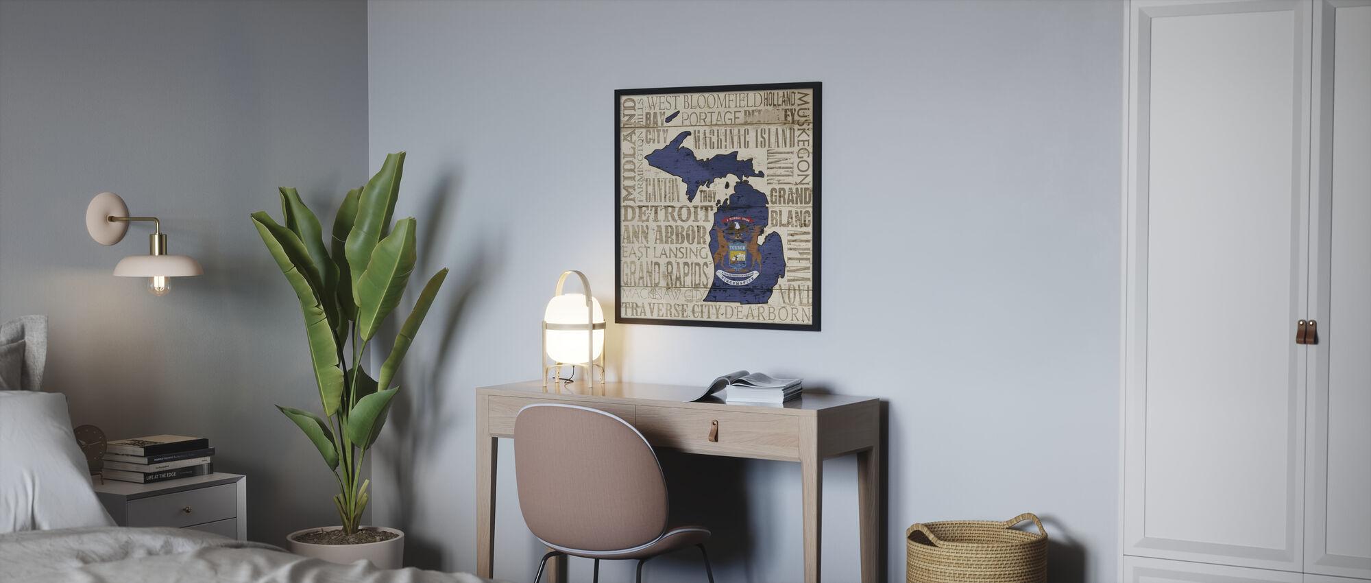 Michigan (staat) - Poster - Slaapkamer