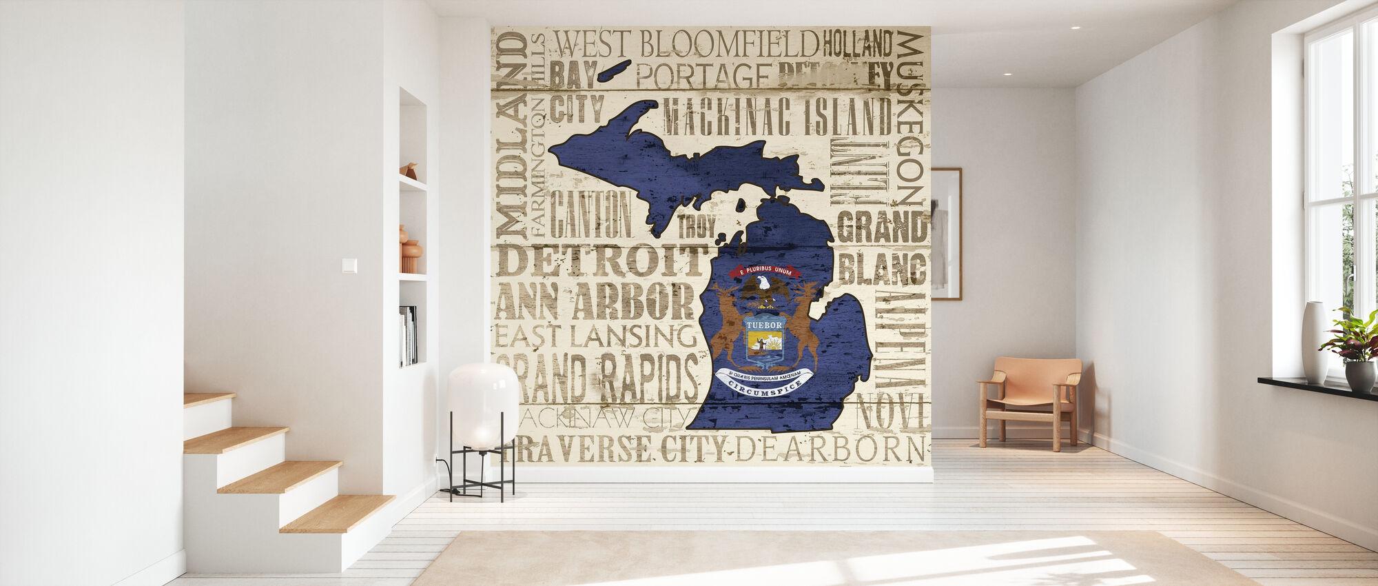 Michigan State - Wallpaper - Hallway