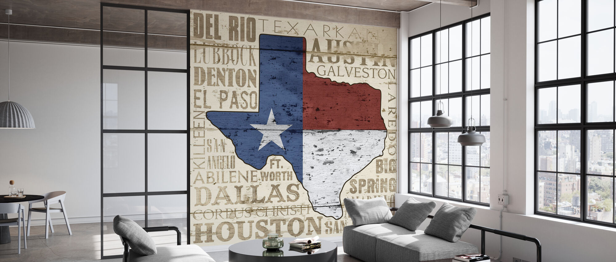 Texas State - Wallpaper - Office