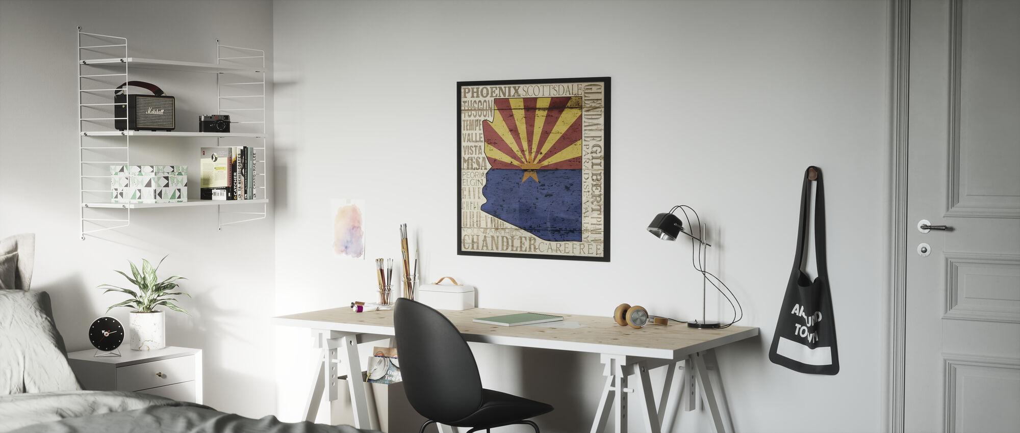Arizona (staat) - Poster - Kinderkamer