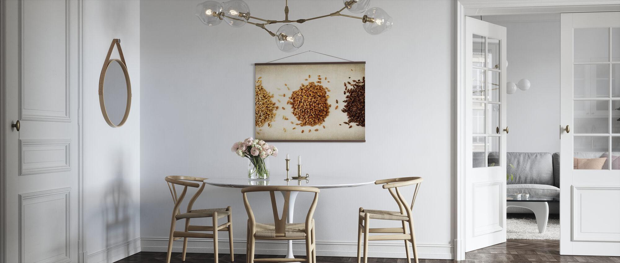 Malt Varieties - Poster - Kitchen
