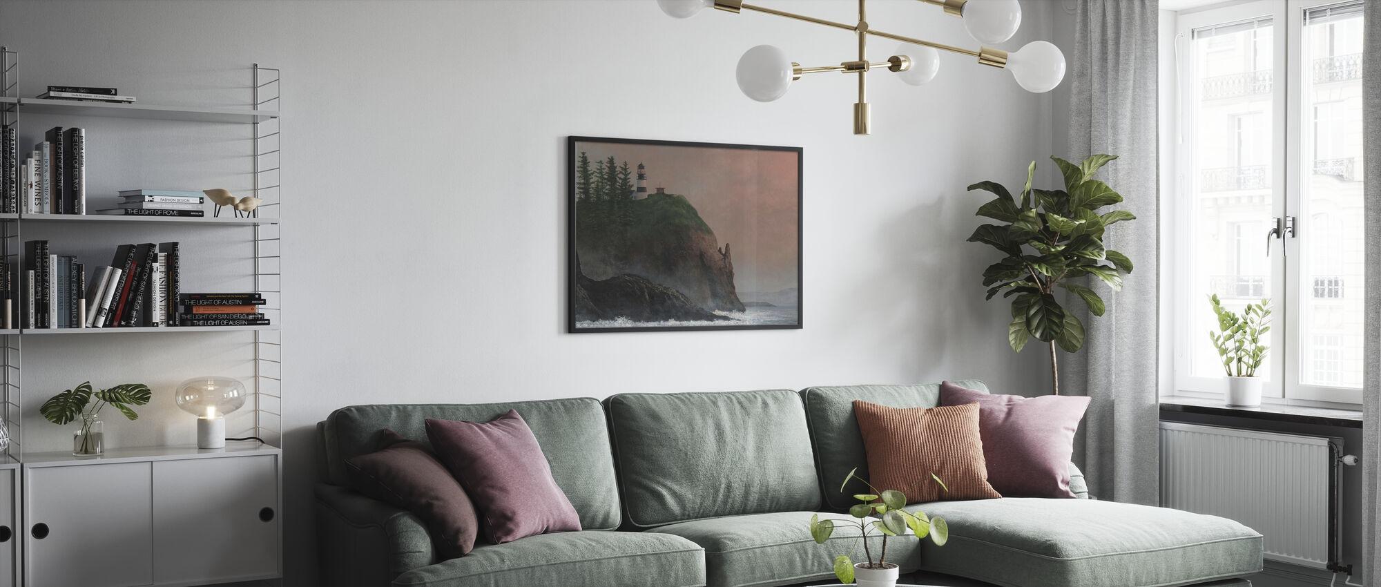 Cape Enttäuschung Licht - Gerahmtes bild - Wohnzimmer