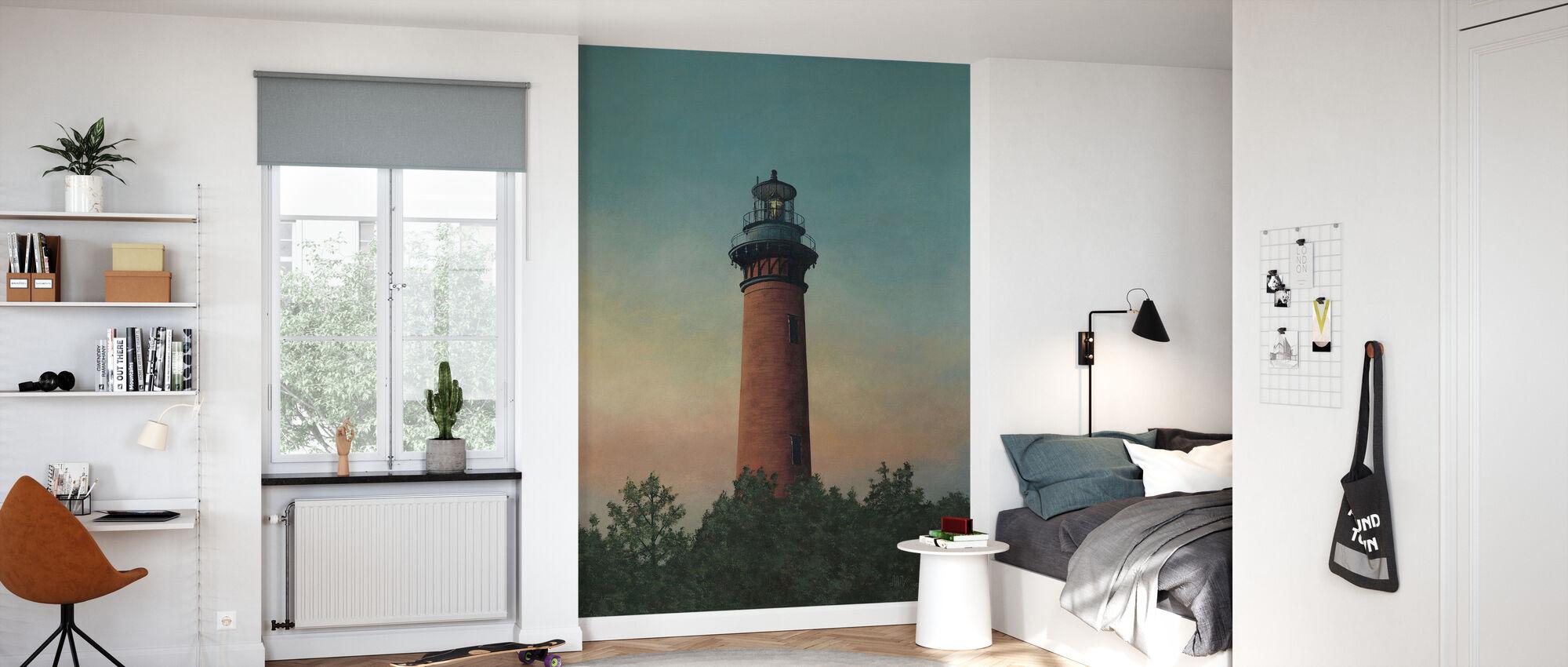Currituck Beach Lighthouse - Wallpaper - Kids Room