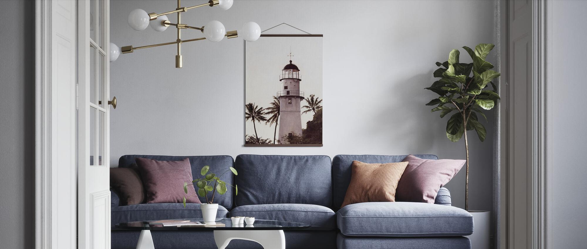 Diamantkopf - Poster - Wohnzimmer