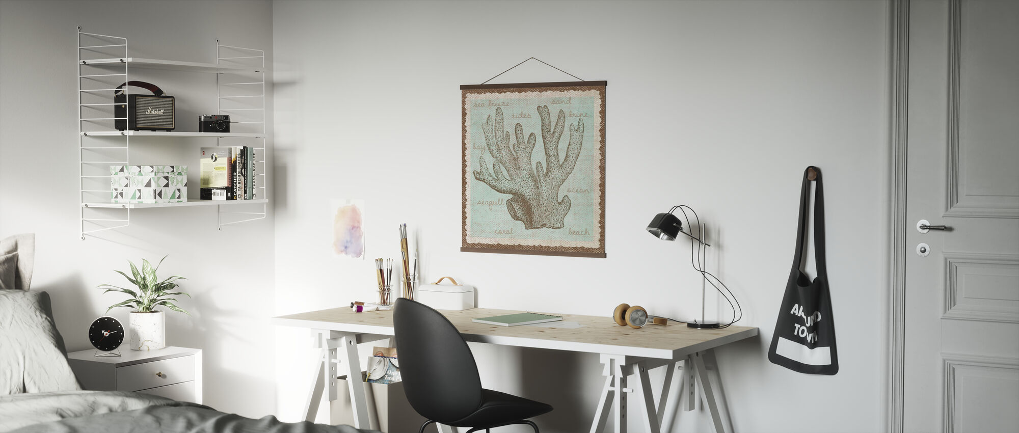 Coral Art - Poster - Office