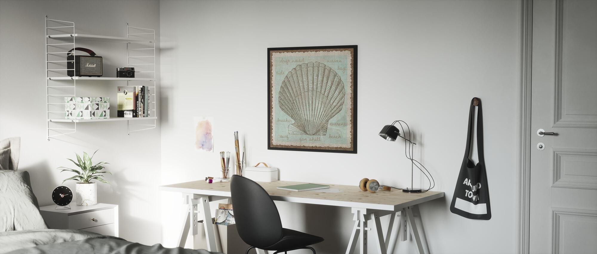 Shell Art - Poster - Kids Room