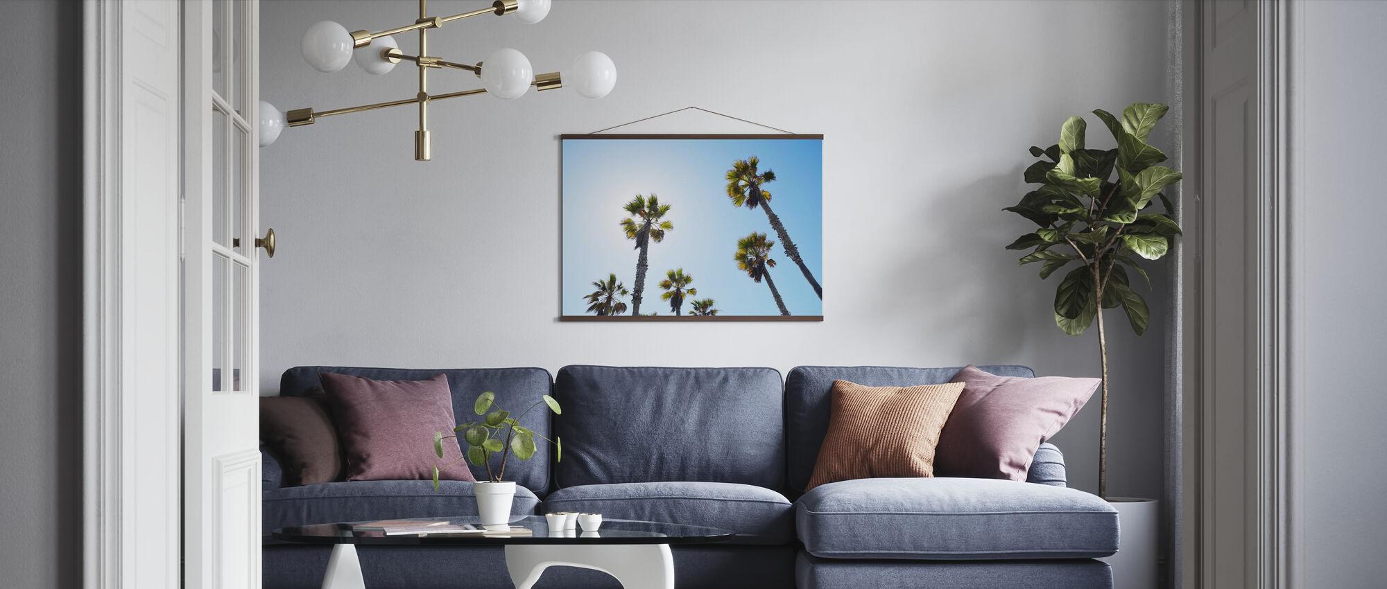Palm Ave - Poster - Wohnzimmer
