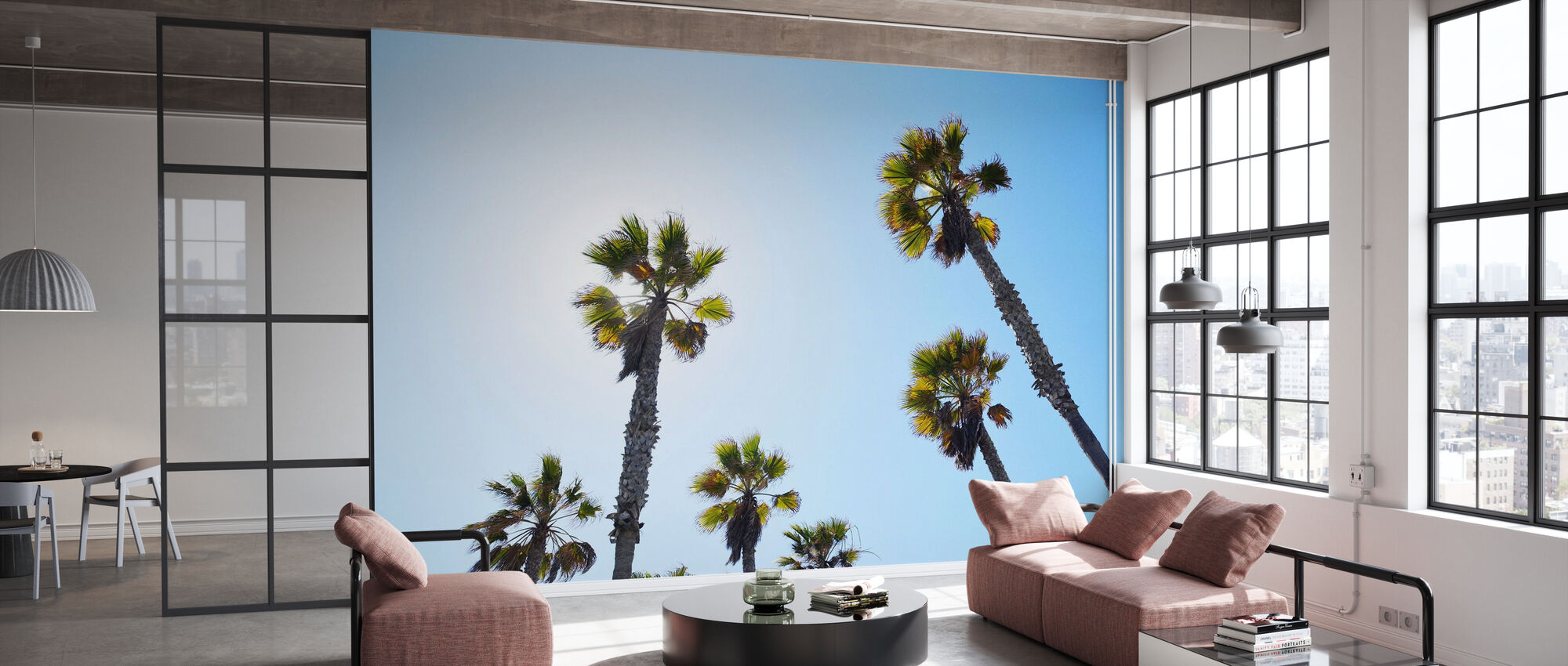 Palm Ave - Wallpaper - Office