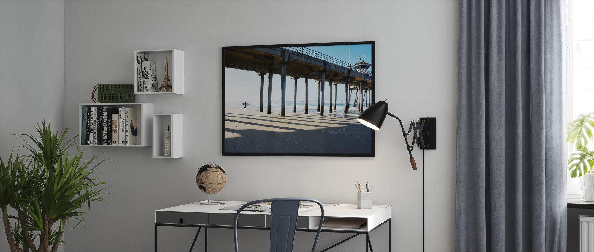 Surf Stadt - Poster - Büro