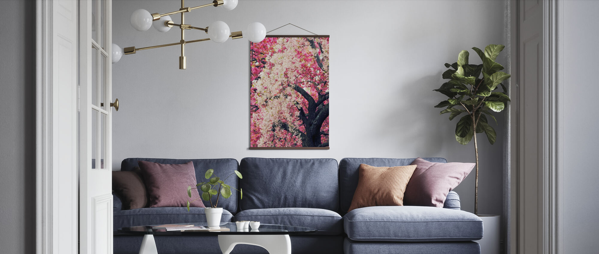 Asian Cherry - Poster - Living Room