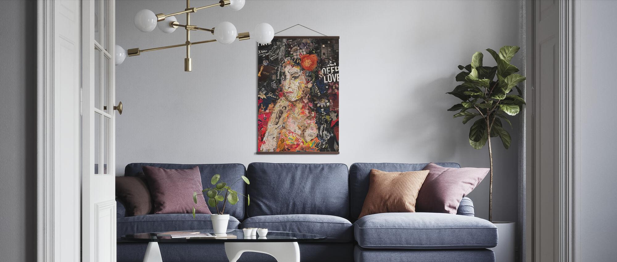 Back to Black - Poster - Living Room